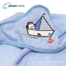 Baby Swaddle Handtuch und Kapuze Decke