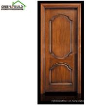 Designs de porta de madeira de teca de Guangzhou único
