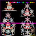 2014 New snowman pageant crowns tiaras for sale