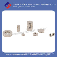 Customized Different Shapes for NdFeB Permanent Magnets