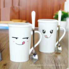 Taza personalizada de la taza de los pares de la taza de la porcelana