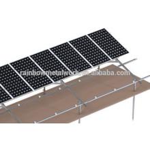 Système de rack de montage PV solaire en acier