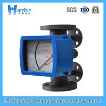 Instalación vertical Rotómetro de tubo metálico 316L para Dn50-Dn100