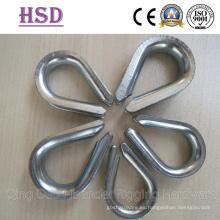 Dedal, tipo comercial europeo, nos G414 tipo pesado, nos de luz tipo G411 dedal