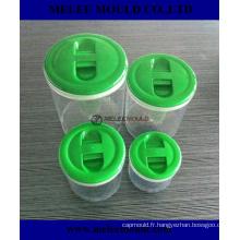 Moulage par injection de Plastik de la Chine pour l'outillage de pot