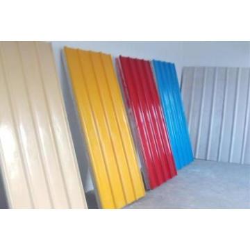 Painéis metálicos de telhado Folha de aço pré-pintada / Revestimento de zinco Gi Gl Steel