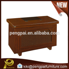 Melamine panel small wood office table design