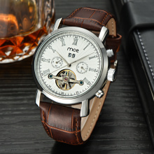 oem classic winner skeleton automatic mechanical men watch