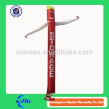 Publicidade de alta qualidade logotipo impressão insufláveis ar dançarino mini insufláveis ar tubo homem