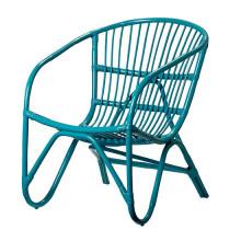 Chaise de patio jardin osier ensemble mobilier pile bras