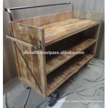 industrial display trolley