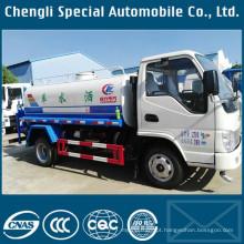 Caminhão de transporte de água de 4000liters de condução à direita