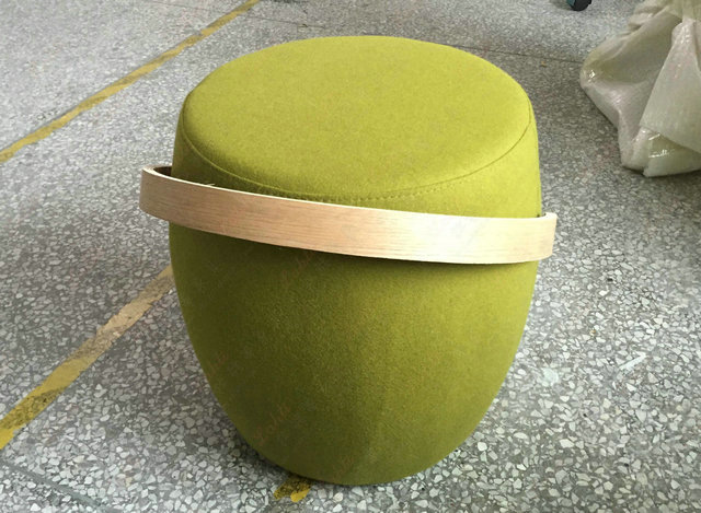 upholstery pouf carry on
