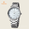 Reloj deportivo para hombre Reloj de cristal impermeable con banda de acero inoxidable 72357