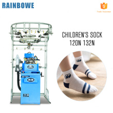 3.5 inch RB-6FP robert model plain socks making machine