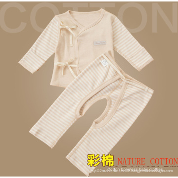 Nature Color Cotton Newborn Baby Cloth Set, Infant Clothing Set