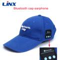 Auriculares inalámbricos de la música de la gorra de béisbol del sombrero de Bluetooth