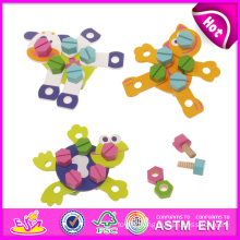 2015 New Wooden Toys for Kids, Popular Cute Wooden Kids Toys for Children, Hot Sale Mini Play Toys for Baby W03c006