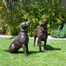 Bronze Dog Labador Retreiver Statue for home decor