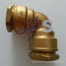 brass PE pipe fitting