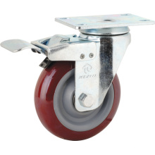 Medium Duty Type PVC Caster (KMx4-M8)