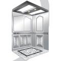 Aksen Mirror Etched Machine Room Passenger Elevator J03340