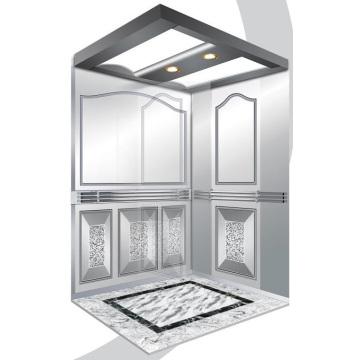 Aksen Mirror Etched Machine Room Ascensor para pasajeros J03340
