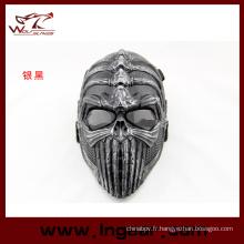 Colonne vertébrale tactique, masque facial Party masque Airsoft masque