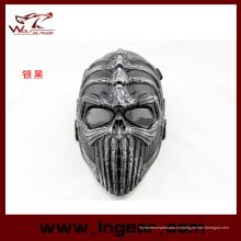 Táctica de la espina dorsal facial máscara máscara fiesta Airsoft