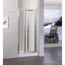 Aluminum Frame Inline Bifold Shower Cabin Ws-B090