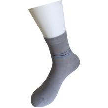 Chaussettes plates à bas prix en maille en coton (JMDS02)