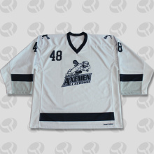 Canada team sublimated custom blank ice hockey jerseys
