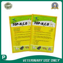 Médicaments vétérinaires de sulfate de néomycine Oxytétracycline HCLPoudre (100g)