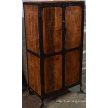 Industrial Wooden Metal Wardrobe