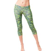 Custom Sports Women′s Pants Lady Capris Leggings