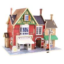Juguetes de coleccionables de madera para casas globales-Reino Unido Tailor's Shop