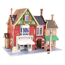 Wood Collectibles Toy pour Global Houses-Britain Tailor's Shop