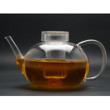 Heat Resistant Pyrex Glass Teapot, High-Quanlity Best-Sell Borosilicate Glass Teapot