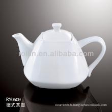 1030 ml de pot de thé en gros, théière personnalisée, pot de thé en céramique