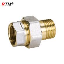 B17 4 12 Hydraulikverschraubung Messing Halbanschluss passend für Hydraulikschlauch Armaturen