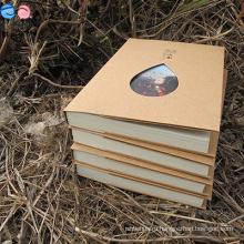 Илтон Рекламный Эко-подарок Переработанная бумага Kraft Notebook