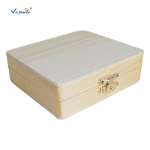 15 PCS Wooden Microscope Slides Storage Boxes