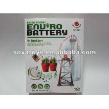 Ensemble de batterie Green Science DIY