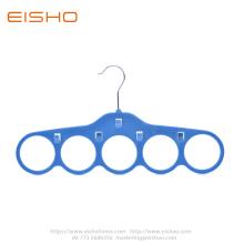 5 agujeros azul corbatas de terciopelo cinturón bufanda suspensión