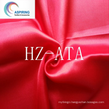 "100% Polyester Satin Fabric 140G/M 58/60""for Garment"
