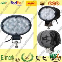 Luz de trabalho LED 27W, luz de trabalho LED série Creee, luz de trabalho LED de 2200lm para caminhões