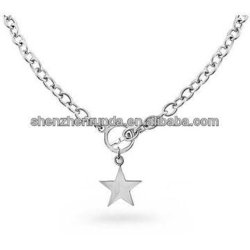 Цепь ожерелья девушки из нержавеющей стали дешевые цепи цепи ожерелье