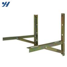 Прочный в использовании порошковое покрытие стальной настенный Кронштейн для блока кондиционера воздуха