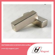 Hochleistungs-starke N35-52 Neodym Quadermagnet hergestellt durch hochwertige Linie