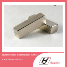 High Power Strong N35-52 Neodymium Block Magnet Manufactured by High Quality Line
